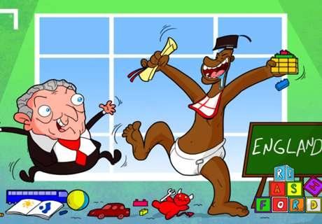 'Baby' Rashford se cuela en la Eurocopa