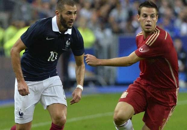 Karim Benzema und Co. setzten sich gegen Spanien durch