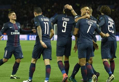 Watch PSG fans in UCL pile-on
