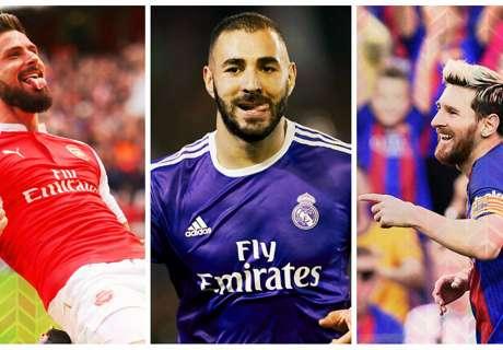Les joueurs les plus décisifs en Ligue des Champions