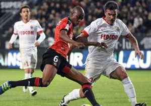 Jeremy Toulalan Gelson Fernandes Rennes Monaco Ligue 1 26042016