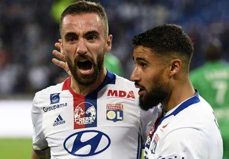 Ligue 1, 8ª - Lione batte ASSE 2-0