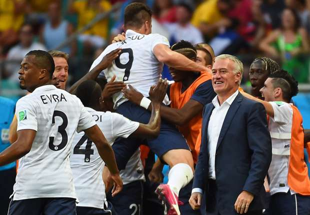 'France's domination has been awesome,' says Raul