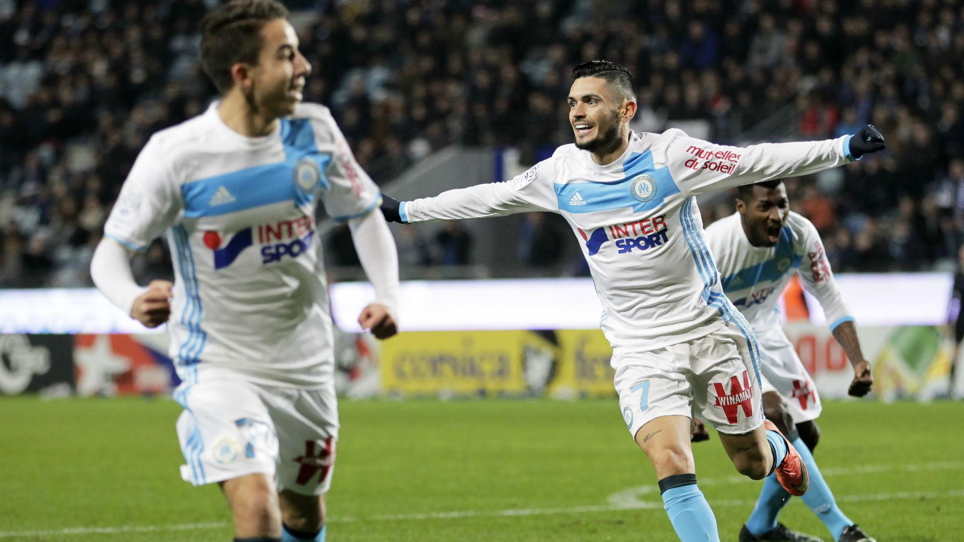 Remy Cabella Maxime Lopez Bastia Marseille Ligue 1 21122016