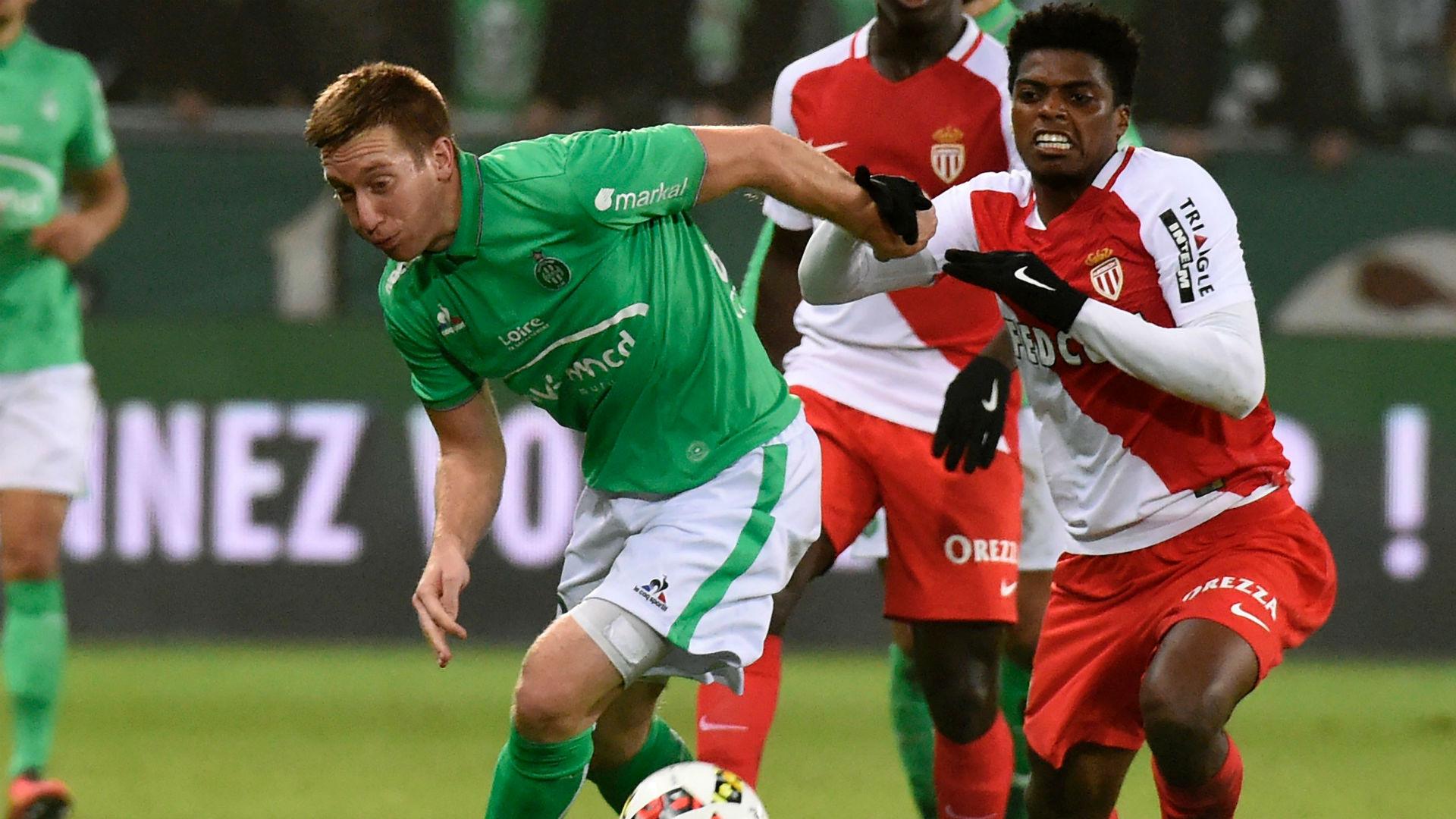 Robert Beric Jemerson Saint-Etienne Monaco Ligue 1 29102016