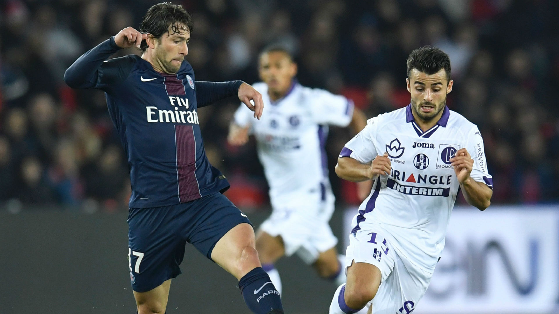 Maxwell Jessy Pi Paris SG Toulouse Ligue 1 19022017