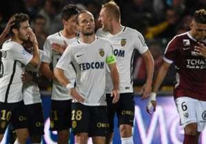 Für Monaco gab es gegen Metz viel zu bejubeln