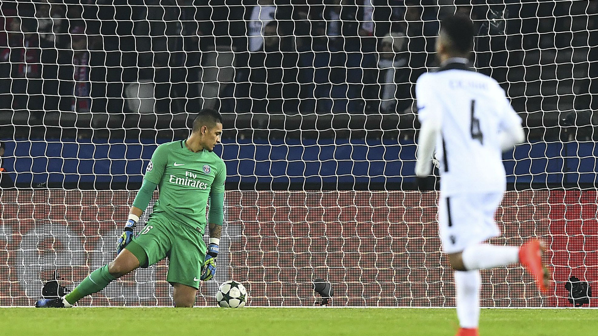 Alphonse Areola PSG Ludogorets Champions League 06122016