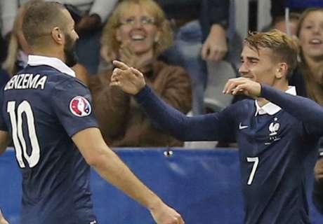 Amistoso: Francia 4-0 Armenia