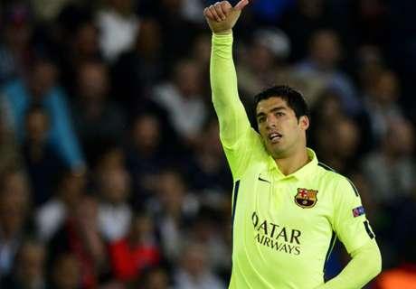Suarez erzielt das Tor der Woche