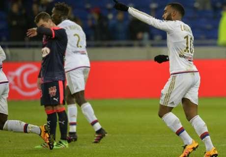Lyon-Bordeaux 3-0, résumé de match
