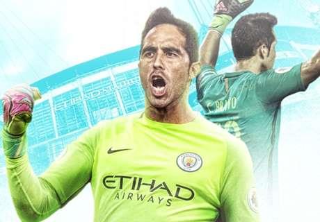 Manchester City anunció a Claudio Bravo