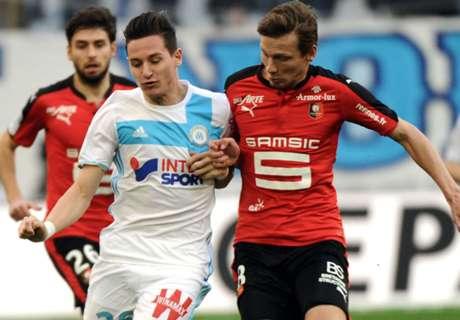 Marseille-Rennes 2-0, résumé de match