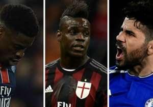 Après les nouveaux dérapages de M'Baye Niang ou Diego Costa, Goal revient sur les têtes brûlées et les enfants terribles du foot, qui ont émaillé l'histoire depuis toujours.