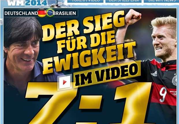 """Duitse media: """"Zet de beker maar vast klaar"""""""
