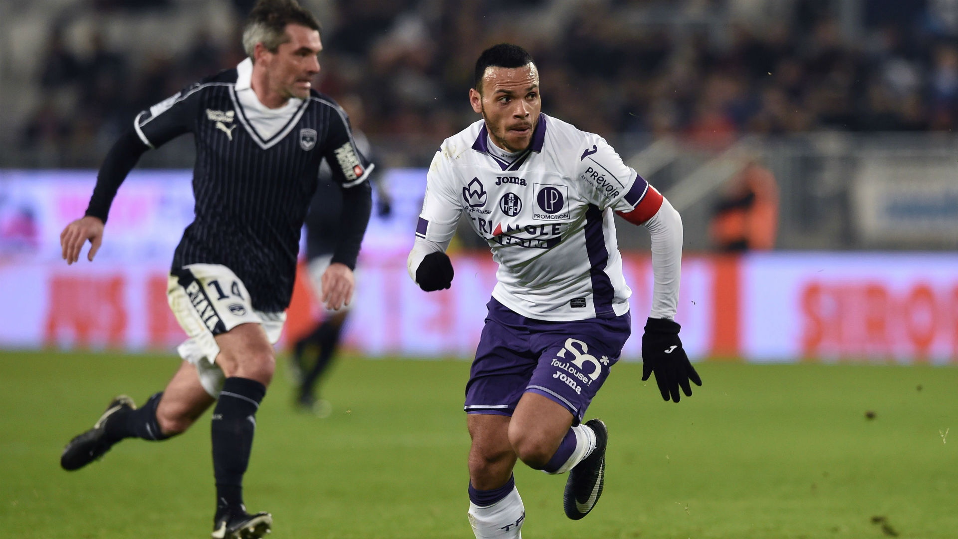L1 : Bordeaux 1-0 Toulouse (mi-tps)