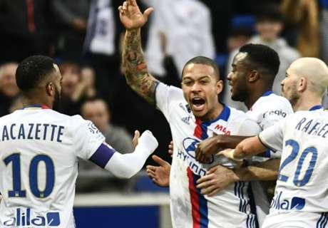 Depay scoort en assisteert voor Lyon