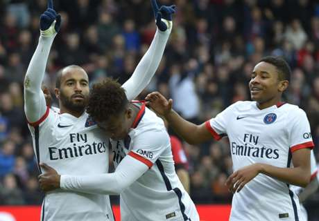 Ratings: Guingamp 0-2 PSG