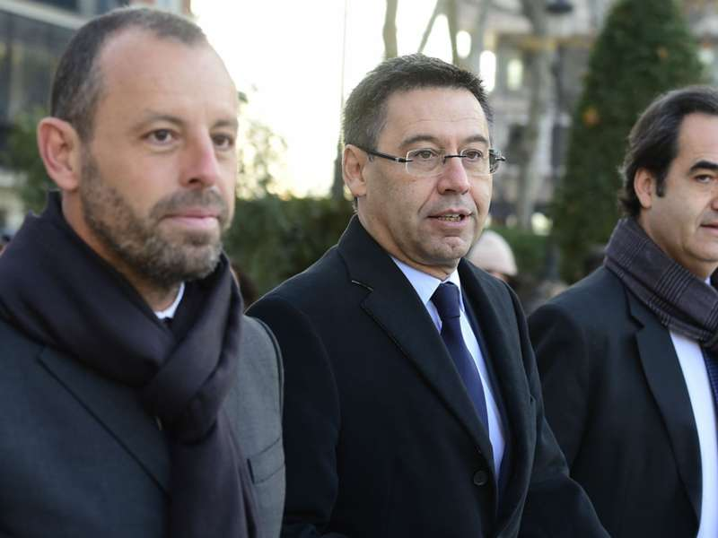Barcelona, Bartomeu and Rosell will not face trial in Neymar case