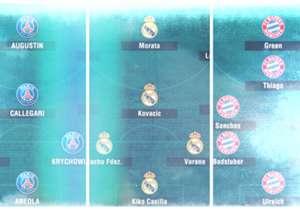 ¿Qué equipo de las cinco grandes ligas europeas puede presumir de tener los mejores suplentes? Para ayudaros en vuestra elección, os dejamos las alineaciones de las segundas opciones de los equipos