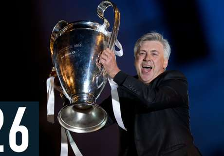 Ancelotti a champion only in Europe