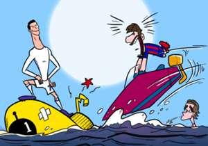 27 FEB | El Real Madrid hunde al submarino amarillo con la remontada y frena la carrera meteórica del Barça al liderato