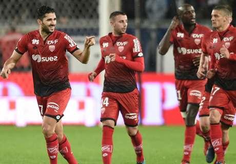 Ligue 1, 16ª - Pari Caen-Digione
