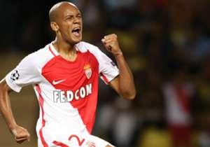 #5 - Fabinho (Monaco) - Fez sua primeira partida em 2017 no domingo e mostrou por que ele é um bem tão cobiçado no momento. Um desempenho fantástico.