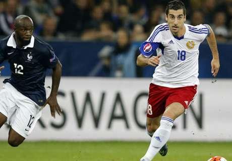 Mkhitaryan Armeniens bester Fußballer