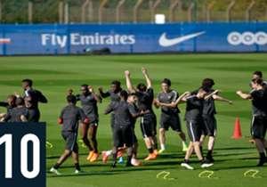 Le chiffre du jour du 20/11/2015 – 10 – 10 personnes sont désormais chargées de surveiller le Camp des Loges, après les récents attentats qui ont secoué la capitale. Plusieurs joueurs franciliens, dont Zlatan Ibrahimovic, bénéficient d'une protection ...