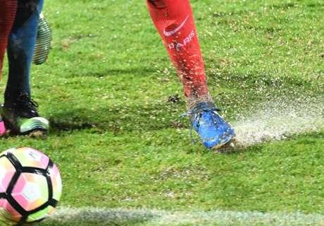 Vidéo: quand la boue empêche Lucas de marquer