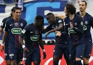 Serge Aurier Blaise Matuidi Marseille PSG Coupe de France 21052016