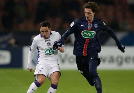 Copa: PSG 2-1 Toulouse
