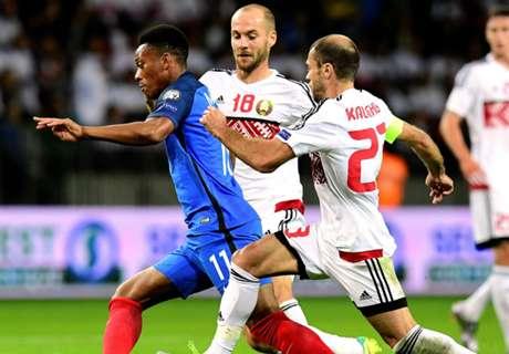 Francia no pudo con Bielorrusia