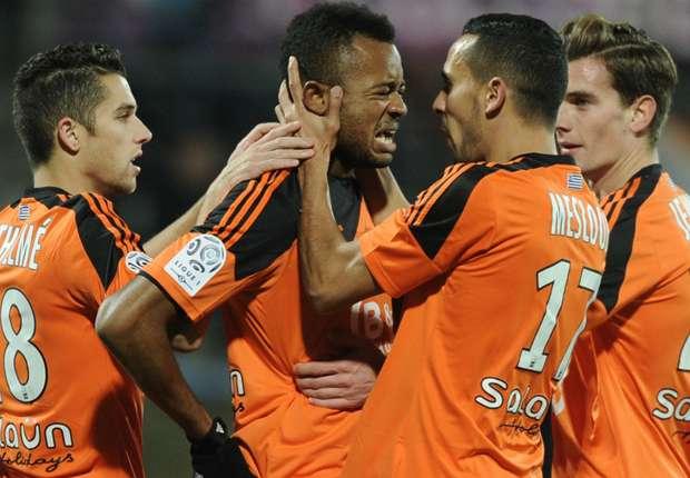 Jordan Ayew Lorient Metz Ligue 13122014