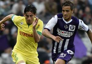 Oscar Trejo Alejandro Bedoya Toulouse Nantes Ligue 1 25042015