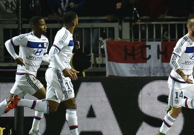 Lyon - Toulouse (3-0), l