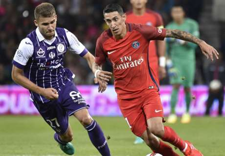 Toulouse sorprendió a PSG