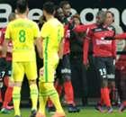 Guingamp-Nantes 2-0, résumé de match