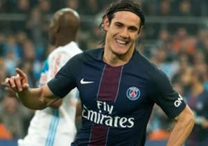 Edinson Cavani Marseille PSG Ligue 1 26022017