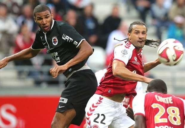 Mikael Tacalfred Jordan Adeoti Reims Caen Ligue 1 08232014