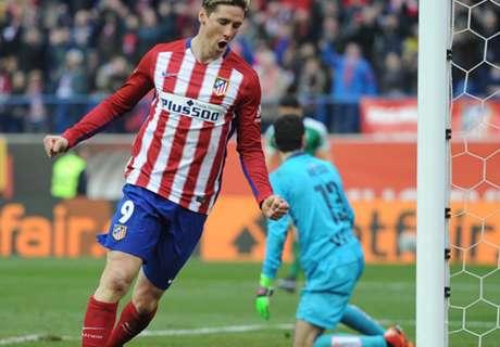 Torres, 100 buts avec l'Atletico