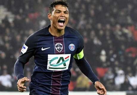 Thiago Silva matchwinner voor PSG