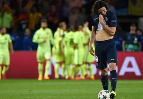 Blanc: Cavani was bad against Barca