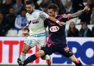 Remy Cabella Mathieu Debuchy Marseille Bordeaux Ligue 1 10042016