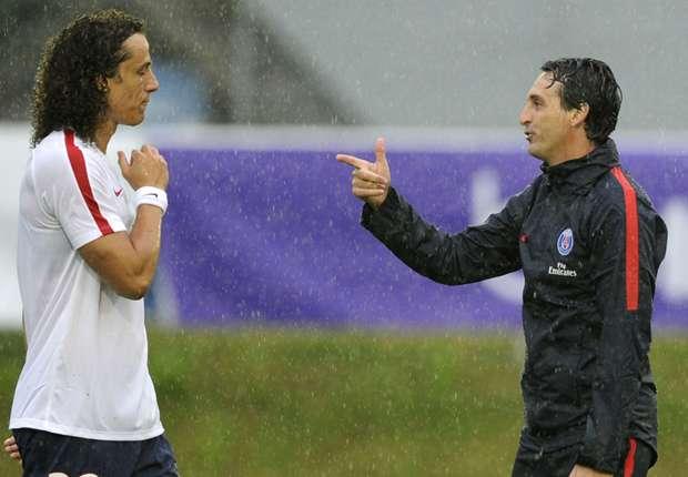 Unai mery David Luiz PSG