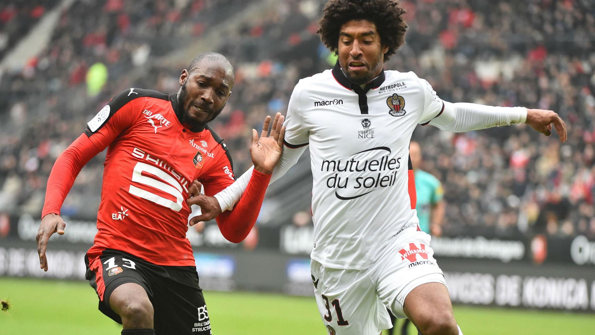 Dante Giovanni Sio Rennes Nice Ligue 1 12022017