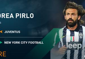 "<font color=""#009966"" size=""3""><b>Andrea Pirlo</b></font> <p><em>Milieu l 36 ans </em></p> <p><span style=""font-size:medium;""><strong>Juventus<span style=""color:#ff9933;""> ——> NEW YORK CITY FC</span></strong></span></p> <p><stro..."