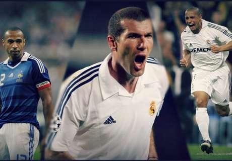 L'équipe de rêve des anciens coéquipiers de... Zinédine Zidane !