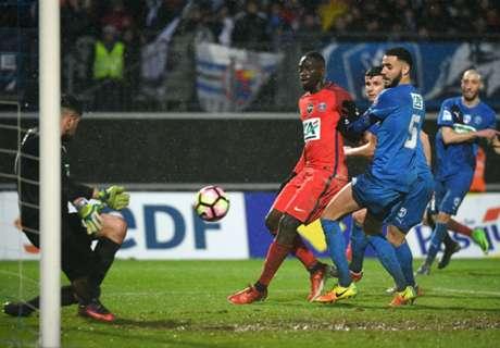 PSG in slotfase langs tweededivisionist